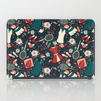 tennis iPad Cases featuring Tennis Style by Anna Deegan