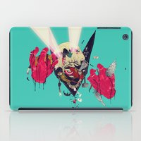 hero iPad Cases featuring Hero Eater by boneface