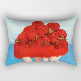 Strawberries dancers of the Sea Rectangular Pillow