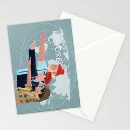 LIFE RUSHMOONRISE Stationery Cards