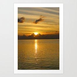 Keys Sunset Art Print