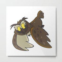 Avery the Owl Metal Print