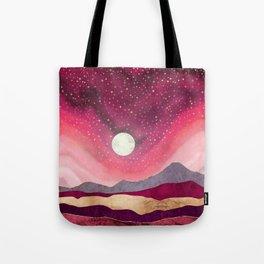 Scarlet Night Tote Bag