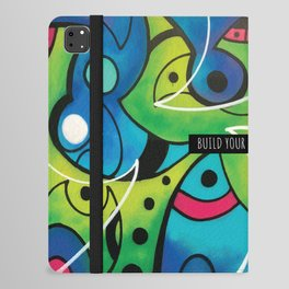 BUILD YOUR OWN DREAM ( GARDEN ) iPad Folio Case