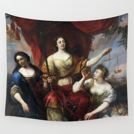 Justice (or Prudence, Justice, and Peace) Wall Tapestry