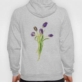 purple tulip Hoody
