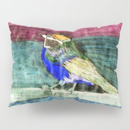 Bunter Vogel Pillow Sham