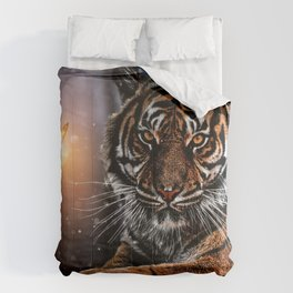 The Tiger and the Magic Butterfly by GEN Z Comforters
