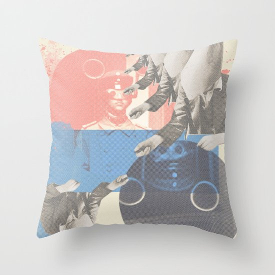 do you copy?? Throw Pillow
