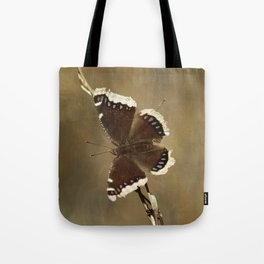 Mourning Cloak Butterfly Tote Bag