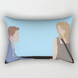 Before Sunset Rectangular Pillow