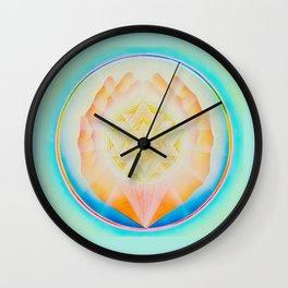 Healing Touch Wall Clock