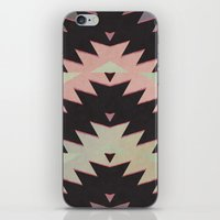 navajo iPhone & iPod Skins featuring navajo triangles by spinL