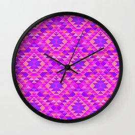 KILIM NO. 10 IN PINK MULTI Wall Clock