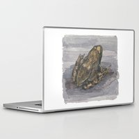 frog Laptop & iPad Skins featuring frog by v0ff
