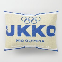 Old Matchbox label #3 Pillow Sham