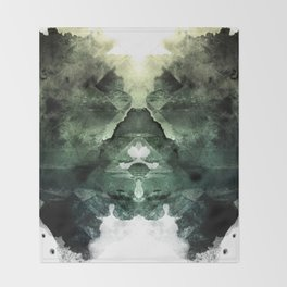 Test de Rorschach Throw Blanket