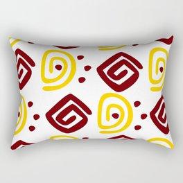 African Tribal Rectangular Pillow