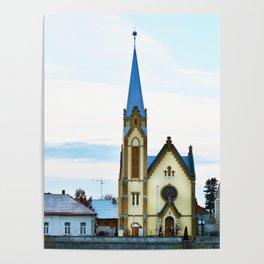 Lugoj Protestant Church Poster