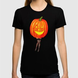 Pumpkin Pin-Up T-shirt