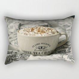 Chai latte Rectangular Pillow