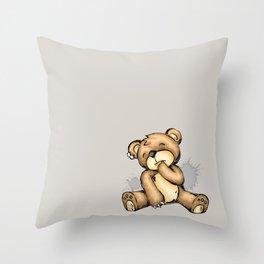 My Teddy Throw Pillow