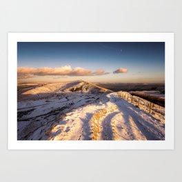 The Shivering Mountain II Art Print