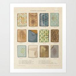 Curbside Mattresses Art Print