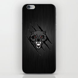 WOLF and ClAW iPhone Skin