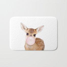 Bubble Gum Baby Deer Bath Mat