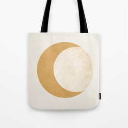 Moon Crescent - Gold Tote Bag