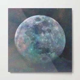 Solstice Moon Metal Print