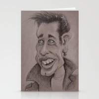 danny haas Stationery Cards featuring Danny by chadizms