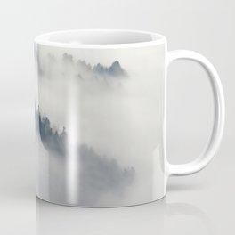 Mountain Fog and Forest Photo Coffee Mug