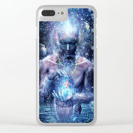 Silence Seekers Clear iPhone Case