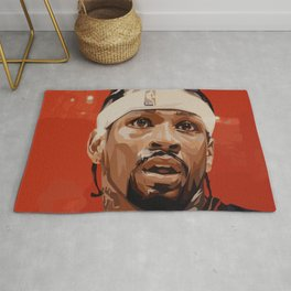 """Iverson """"The Answer"""" Rug"""