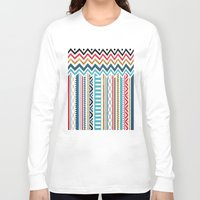 tribal Long Sleeve T-shirts featuring Tribal by Kakel