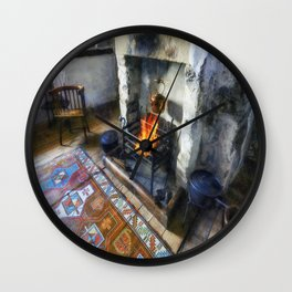 Polly Put The Kettle On Wall Clock
