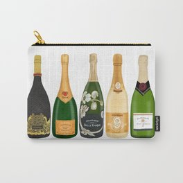 Champagne Bottles Carry-All Pouch
