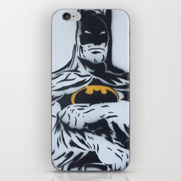 The Bats Body B&W Spray Painting iPhone Skin