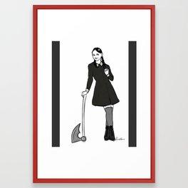 creepy and kooky Framed Art Print