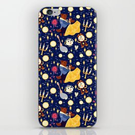 Be Our Guest Pattern iPhone Skin