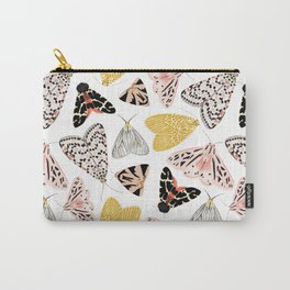 Moth's Diverse Beauty Pattern Carry-All Pouch