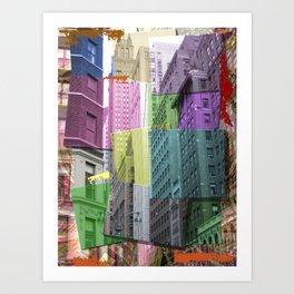 N.Y.C Art Print