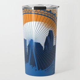 Huston skyline Travel Mug