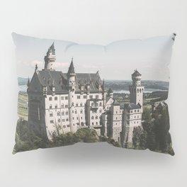 Neuschwanstein fairytale Castle - Landscape Photography Pillow Sham