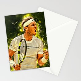 "Rafael ""Rafa"" Nadal Parera - Association of Tennis Professionals - Balearic Islands - Spain 443 Stationery Cards"