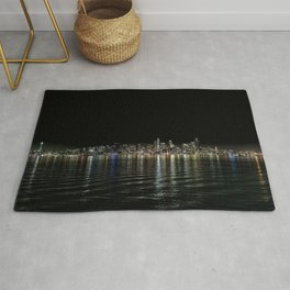 Seattle Night Sea Rug