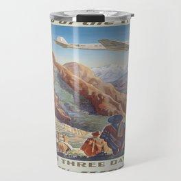 Vintage poster - Peru Travel Mug