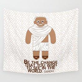 Gandhi Wall Tapestry